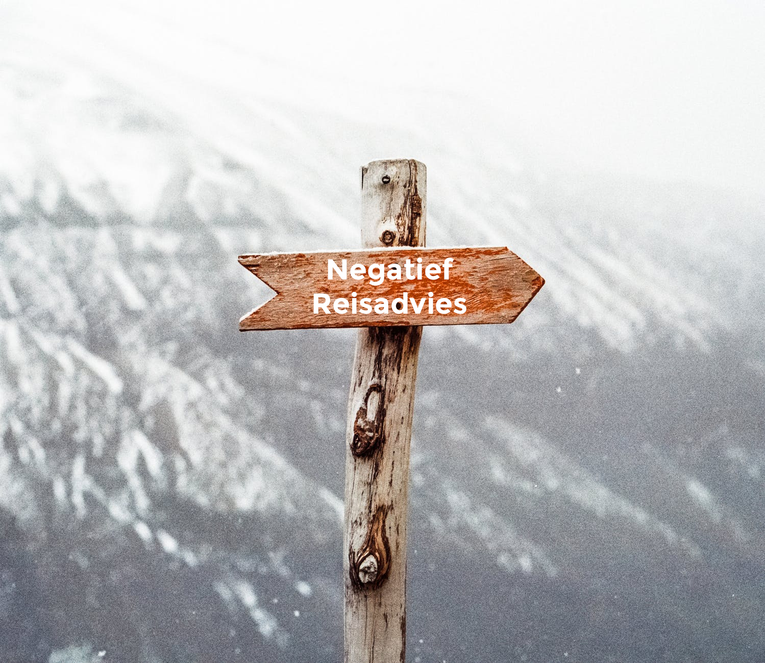 Wintersporten met een negatief reisadvies