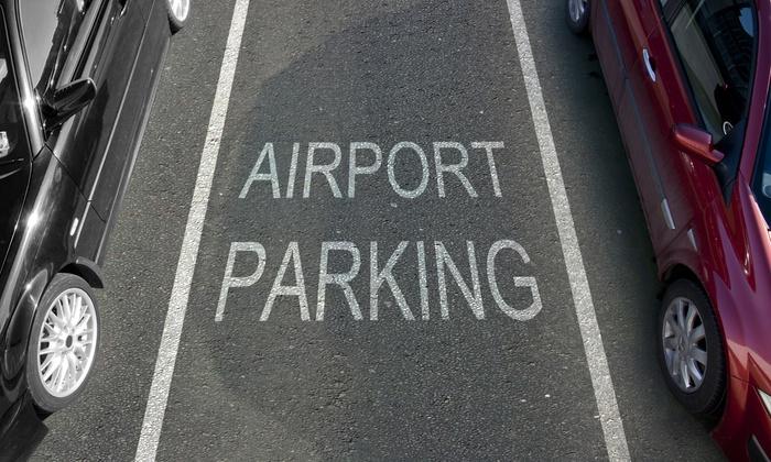 Schade op het vliegveld